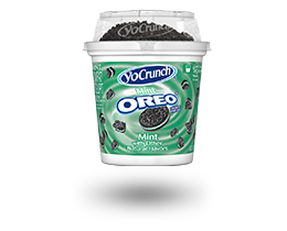YoCrunch Mint Creme Lowfat Yogurt with Oreo Pieces