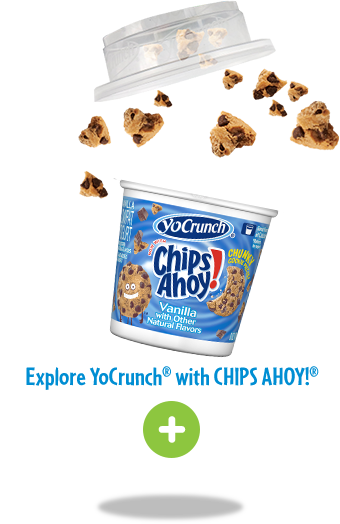 YoCrunch Yogurt with Chips Ahoy Topping