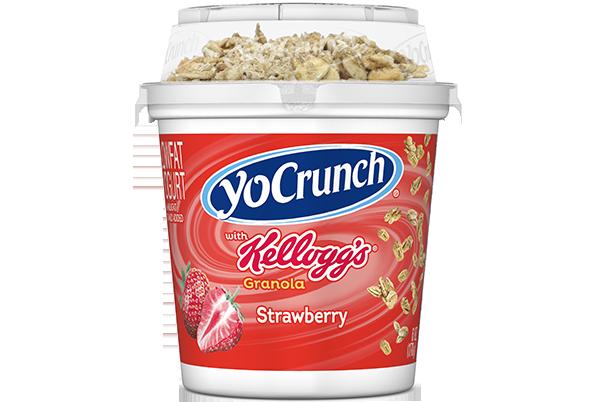 YoCrunch Strawberry Lowfat Yogurt with Twix Pieces