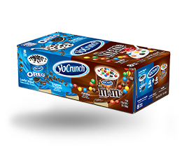 YoCrunch Vanilla Lowfat Yogurt with M&M's & Oreo Pieces Variety Pack