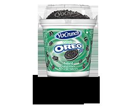 YoCrunch Mint Creme Lowfat Yogurt with Oreo Pieces